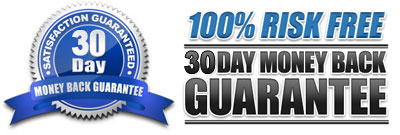 30 Day Money-Back, Satisfaction Guarantee